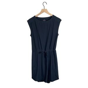 Athleta Perfect Petal Dress in Black